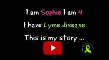 I am Sophie – Lyme disease